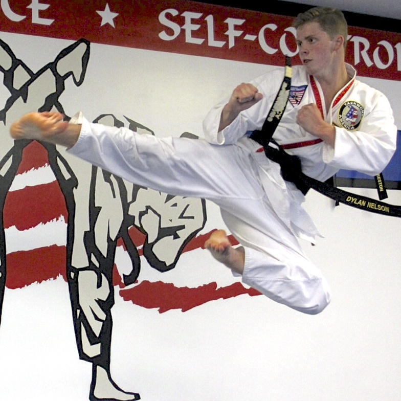 Dylan Nelson, 3rd Degree Black Belt, Level 1 Instructor