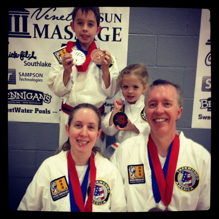 Martial Arts Family From Southlake TX At Tournament.jpg