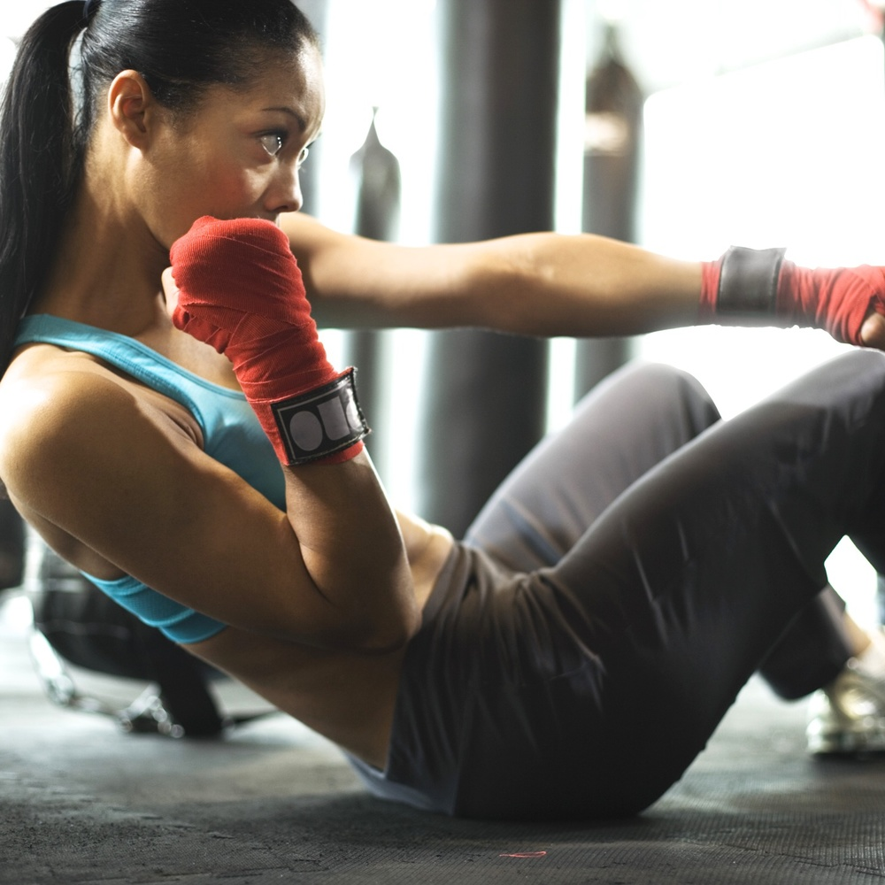 Fun kickboxing martial arts for any adult.