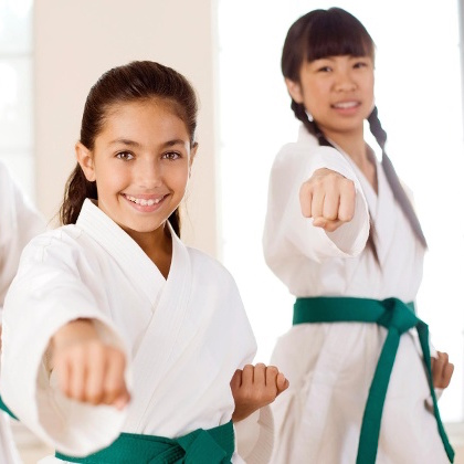 martial arts for children build confidence.