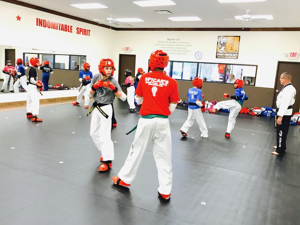 Learning to respect your partner is a key to having a good time when sparring.