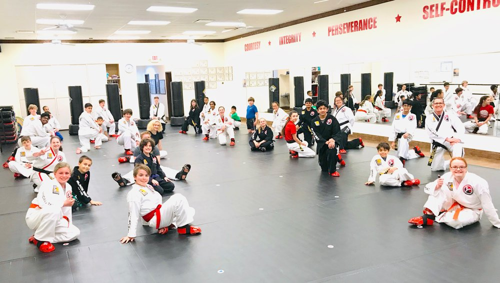 Sparring with friends creates long lasting relationships and really fun stories to share later.