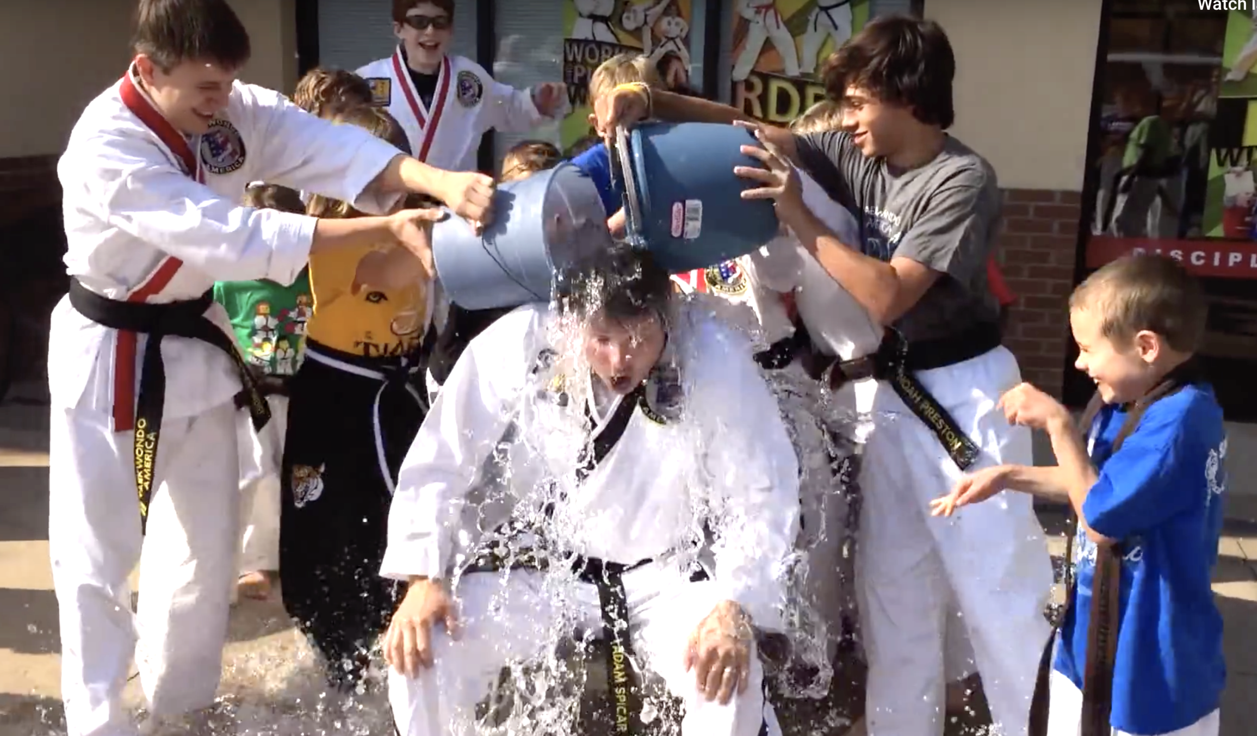 icebucketchallenge — Blog — Spicar's Martial Arts in