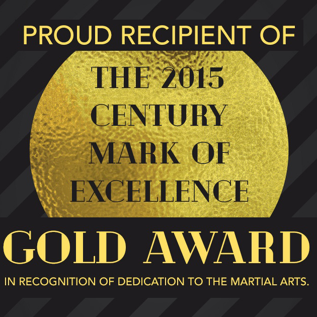 Gold Award in the Martial Arts Industry