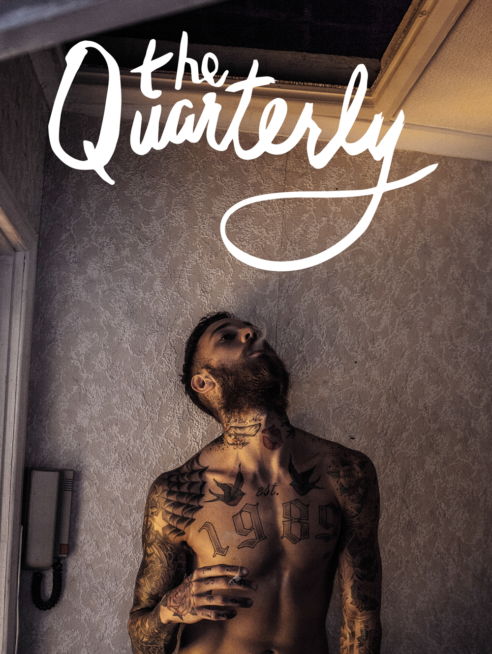 The Quarterly, Issue 2: Life and Culture   Featuring photography from Maud Chalard, Sharon Kim, Roo Lewis, ANTON, Mark Ivkovic, Annie Ling, Tom Johnson, Tim Hans, Nick Onken, Marc Pritchard, and writing from Naeem Alvi, Jace Kim, Christian Coleman, Stephen Dowling, Errol Clarke, Ivana McConnell, Noo Ridings, Alena Walker, Patrick McCullough. 144 Pages, 250mm x 190mm No adverts. No filler. Creativity without the Exploitation.
