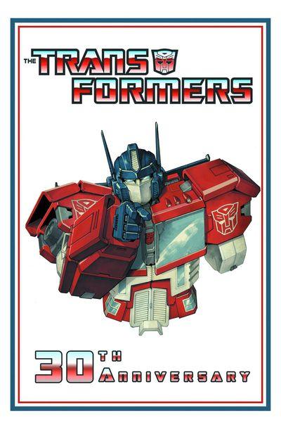 Transformers 30th Anniversary HC