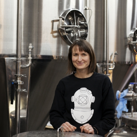Director – Francesca  Francesca has been with the brewery since the early days. She works on strategy, HR and individual projects.