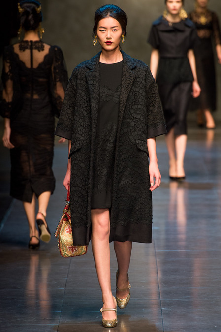 Liu Wen, Dolce & Gabbana FW13