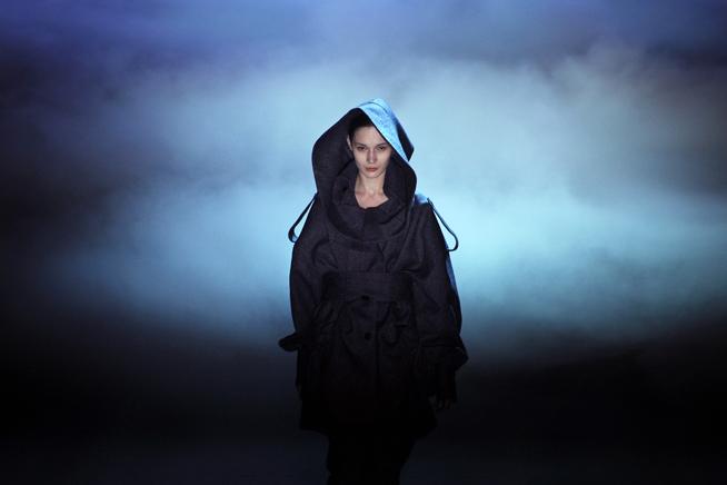 Simon Gao at China Fashion Week F/W13 (photo by WSJ)