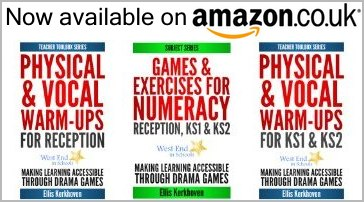 See our drama games books on Amazon