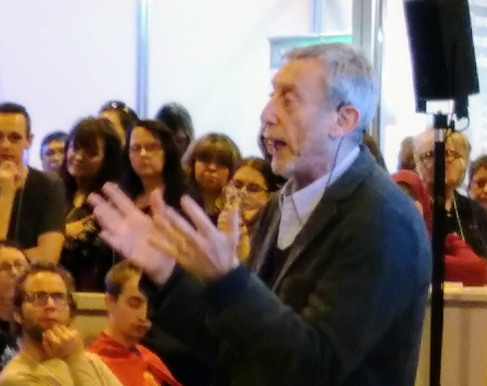 Michael Rosen at the Education Show