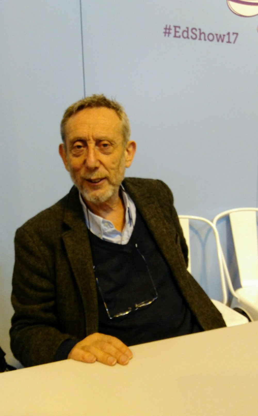 Michael Rosen talks about our Inspiring Writing workshop!