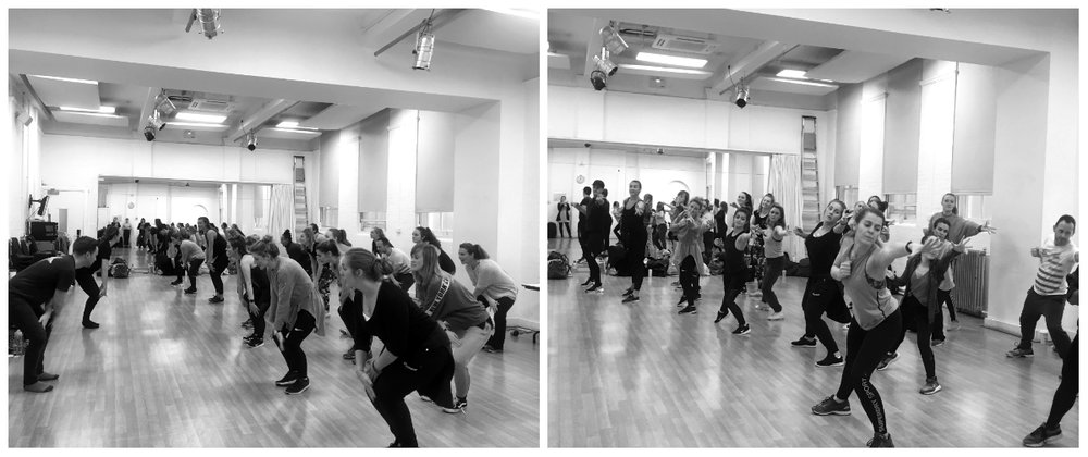 West End in Schools dancer-choreographers during our 2019 training