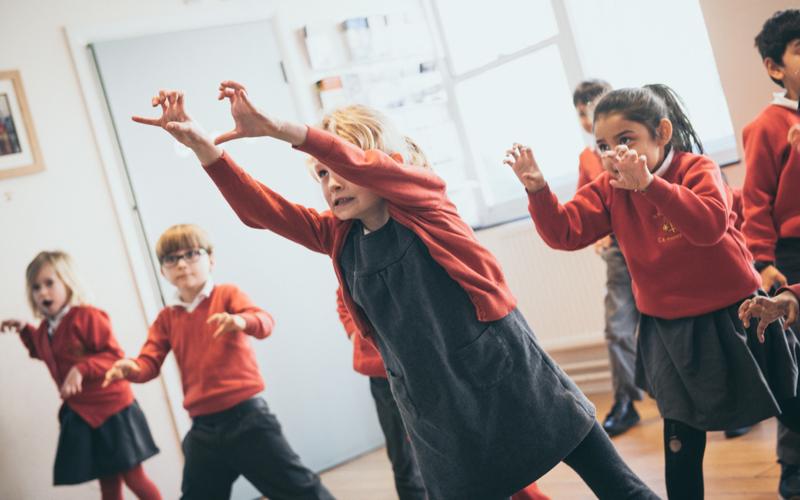 Primary school drama workshops