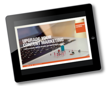 Content Marketing Upgrade ebook