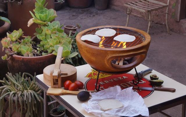 Aztec BBQ in desert yellow color