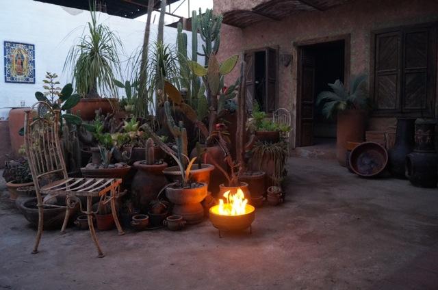 Aztec Stone fire pit
