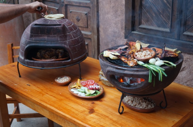 Sol-y-Yo Stone oven and Aztec BBQ