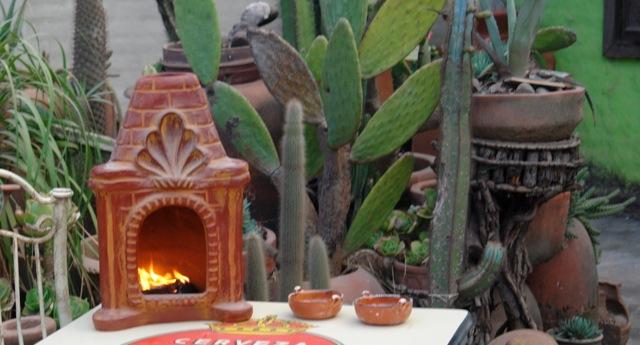 Casita table-size chimenea