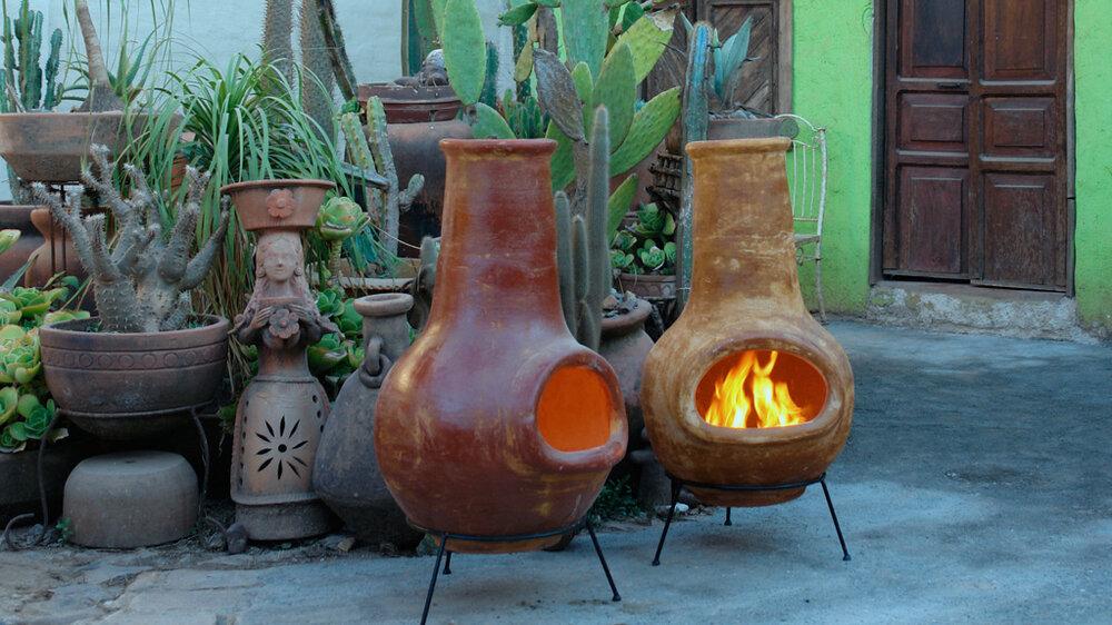 Classic Mexican Chimenea