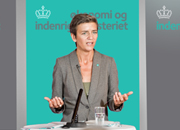 Danish Government Identity for a new ministerial department for the Deputy Prime Minister of Denmark