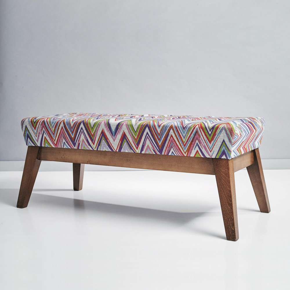 Camira Zig Zag bench
