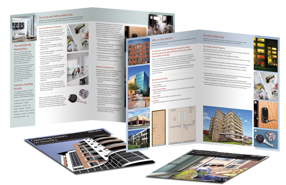 Light Commercial / Multifamily brochures