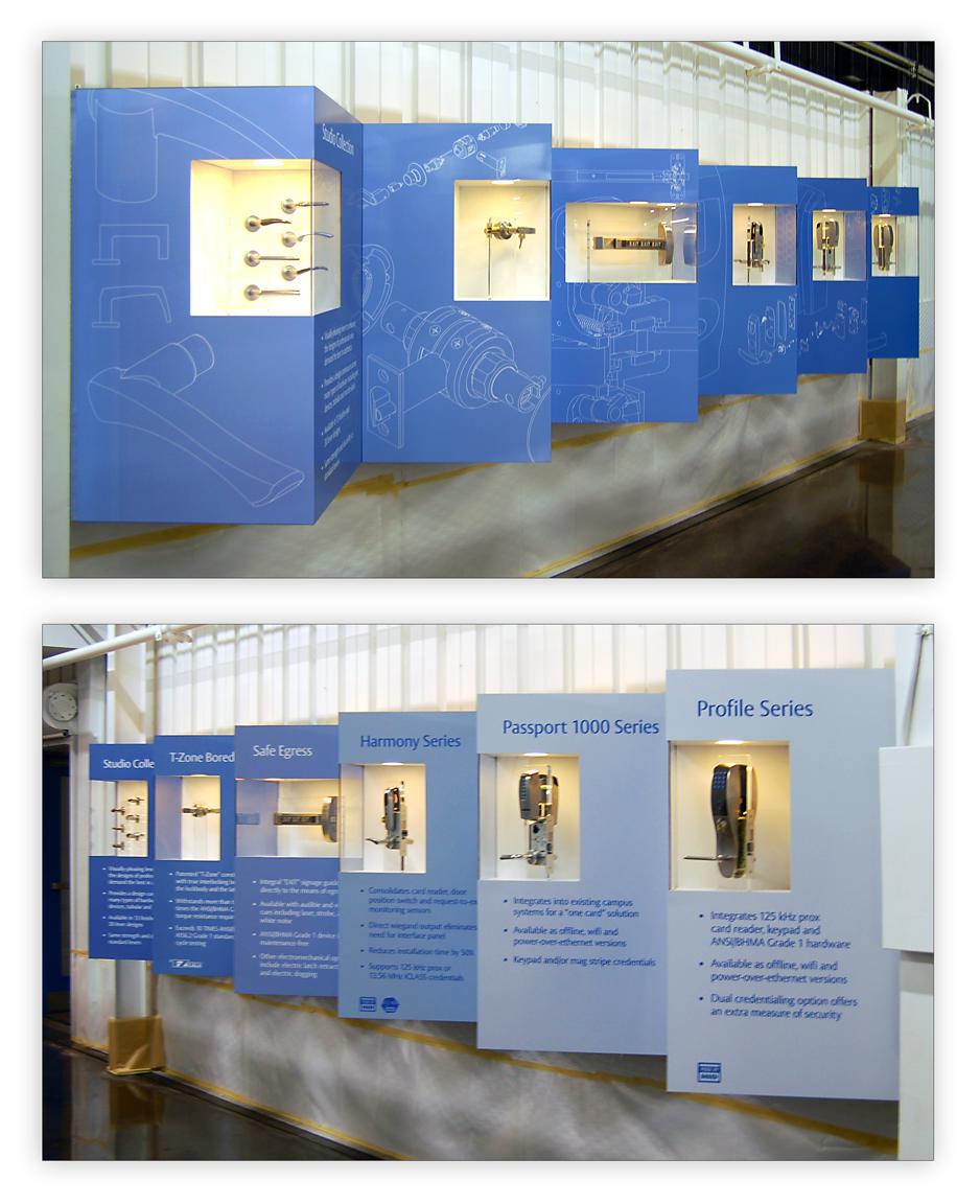 SARGENT hallway display