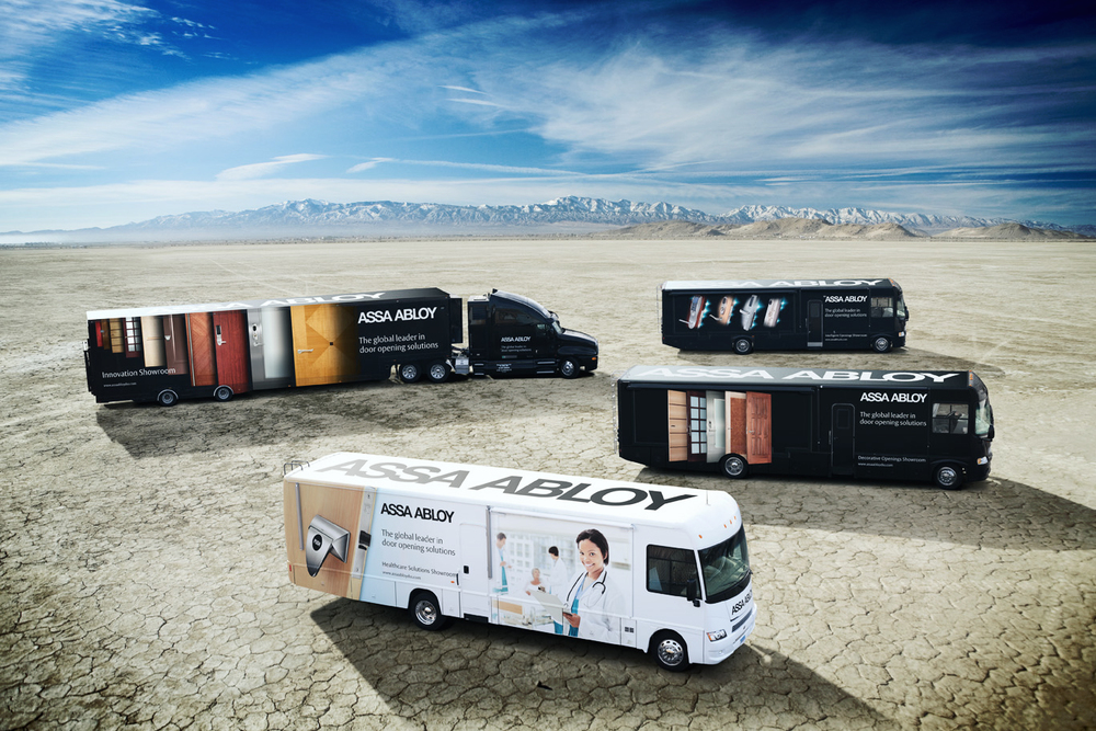 ASSA ABLOY Mobile Showrooms