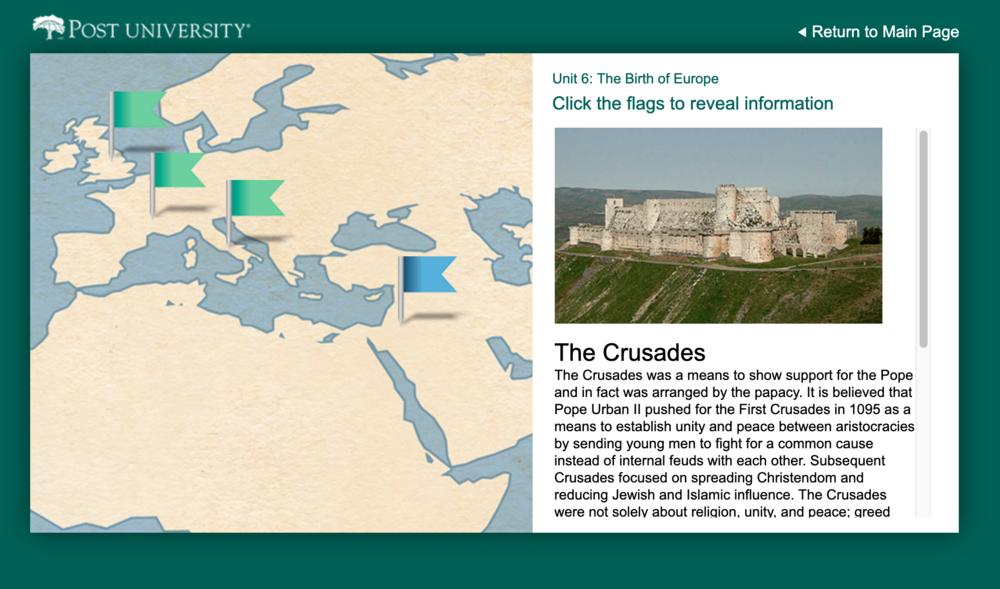 History 101 Interactive Maps -