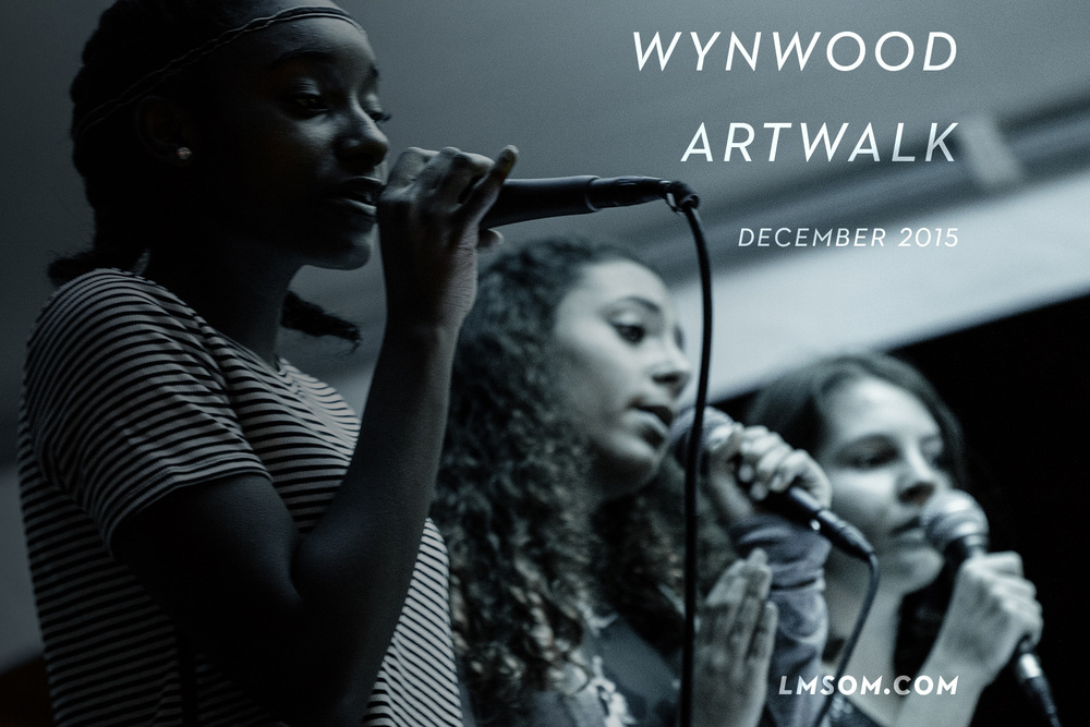 LIVE 2 singers Khloe, Oriana & Daisy singing in unison at Wynwood Artwalk | #heartfelt