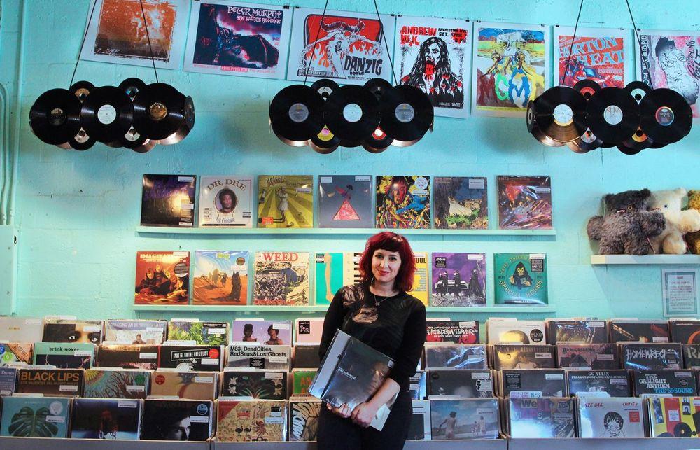 Store owner Lauren Reskin