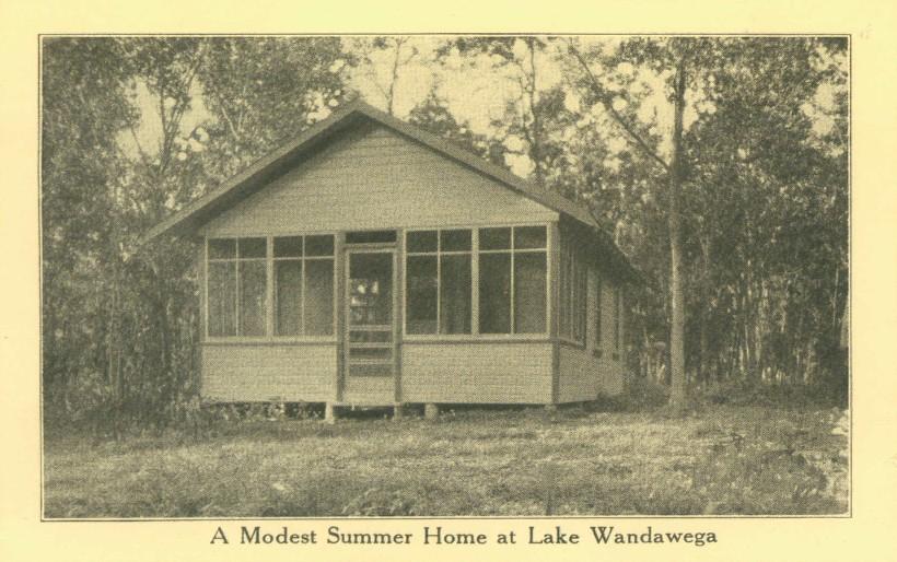 A modest summer home at Lake Wandawega