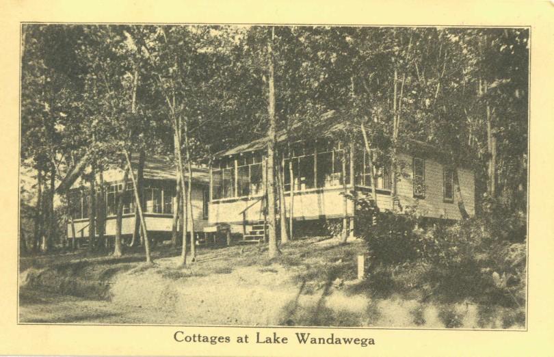 Modest Cottages at Lake Wandawega