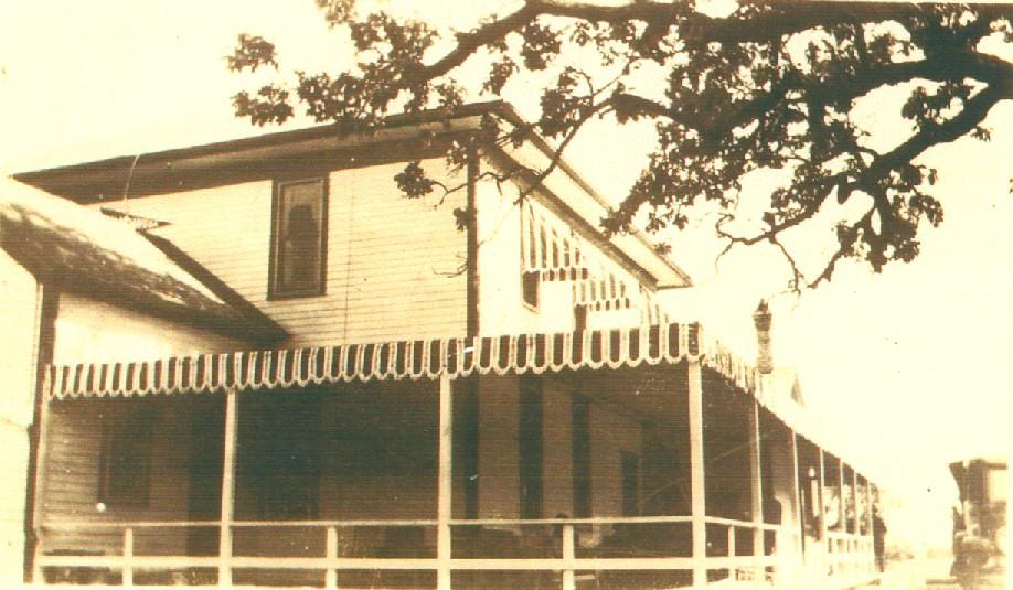 The northwest corner of the Wandawega Club House back in the day