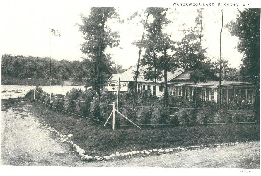 Hotel Wandawega, 1920s, now Wandawega Lake Resort/Camp Wandawega