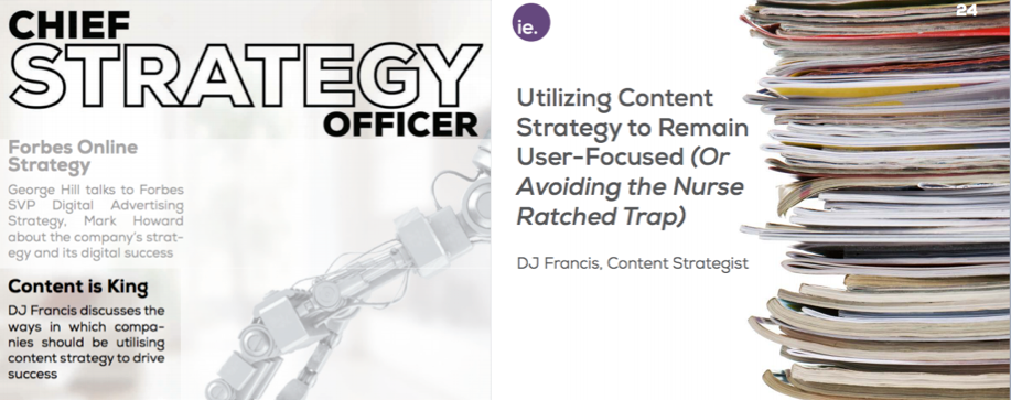DJ Francis in Chief Strategy Officer Magazine