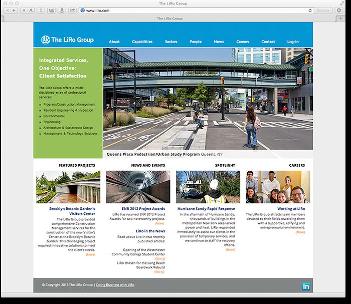 The LiRo Group New Website