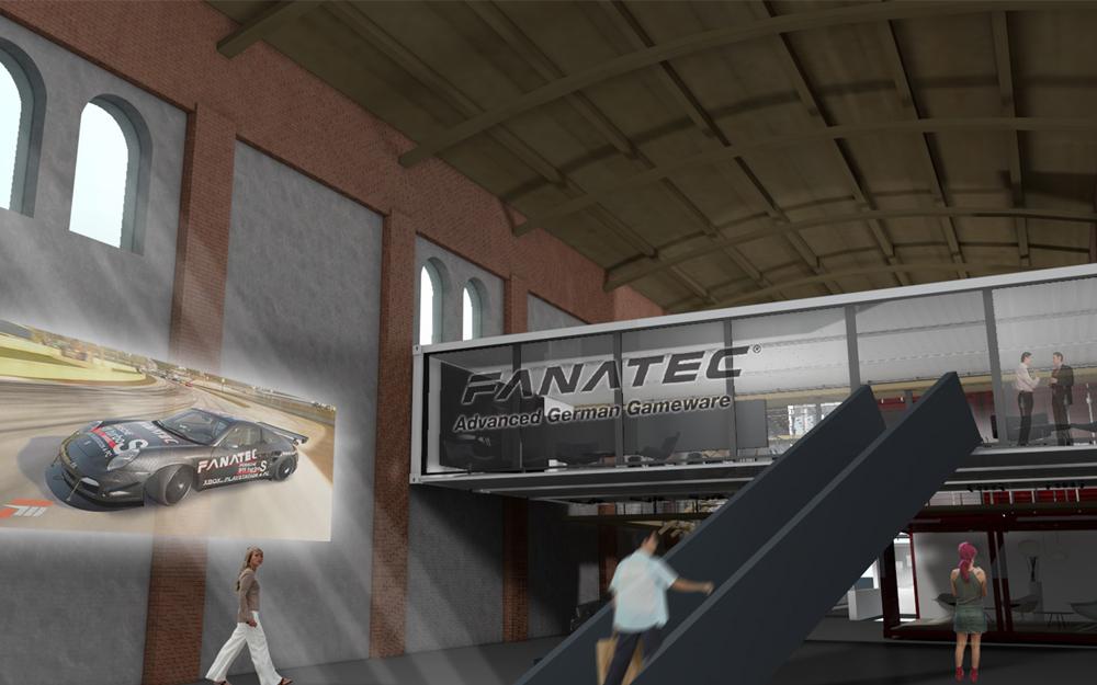 FANATEC Flagshipstore Munich