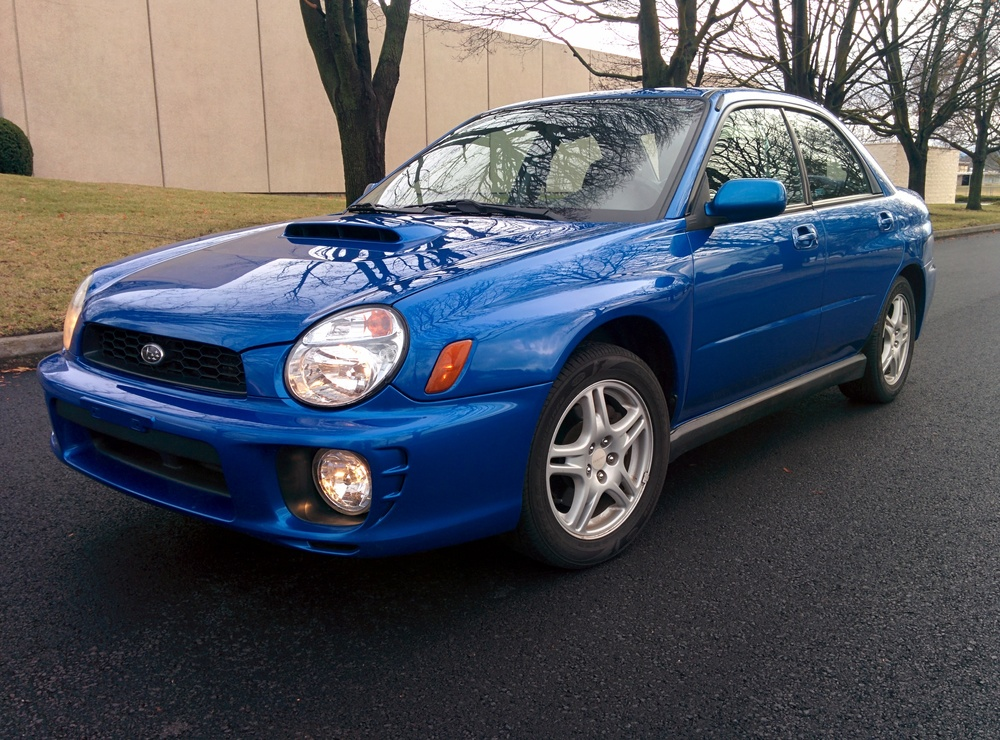 Subaru Impreza Wrx 2002 Rally 2002 Subaru Impreza Wrx World
