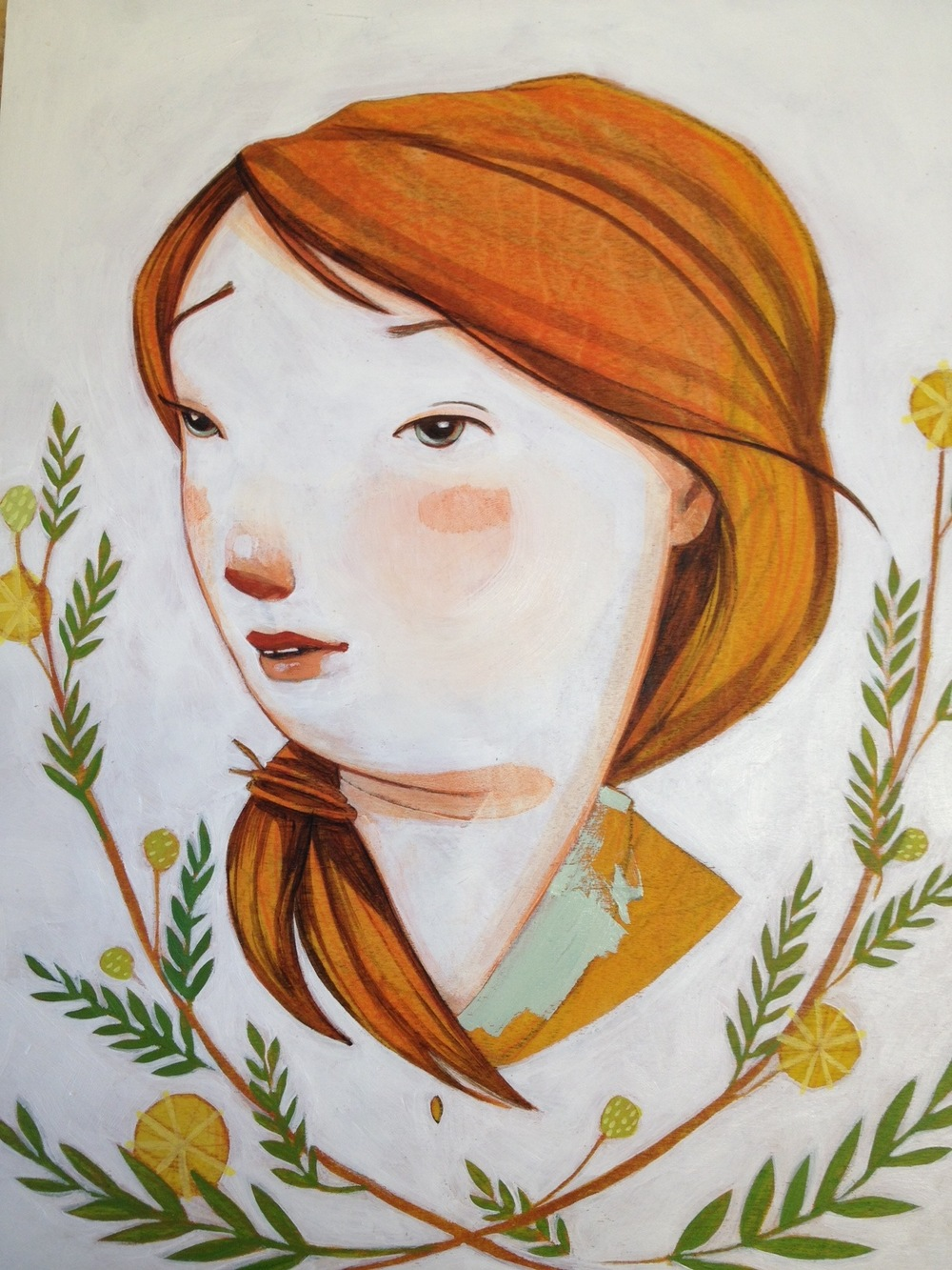 "Progress ""Oh the things I will find"""