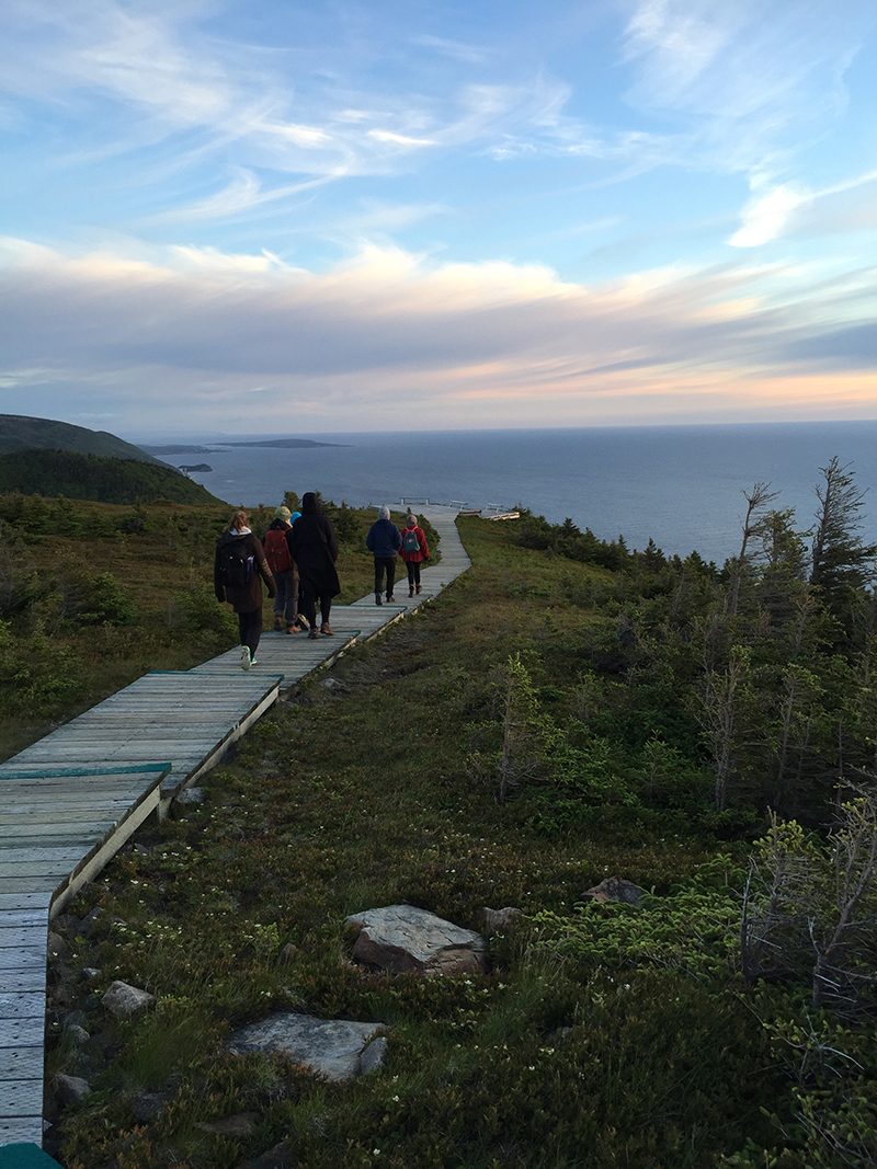 The Sunset Hike in Cape Breton