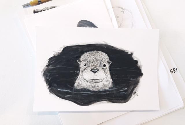 Emily's Otter!