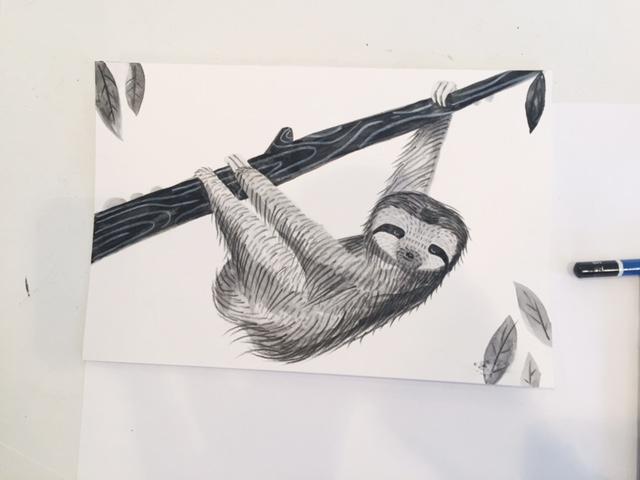 Annie's Sloth!