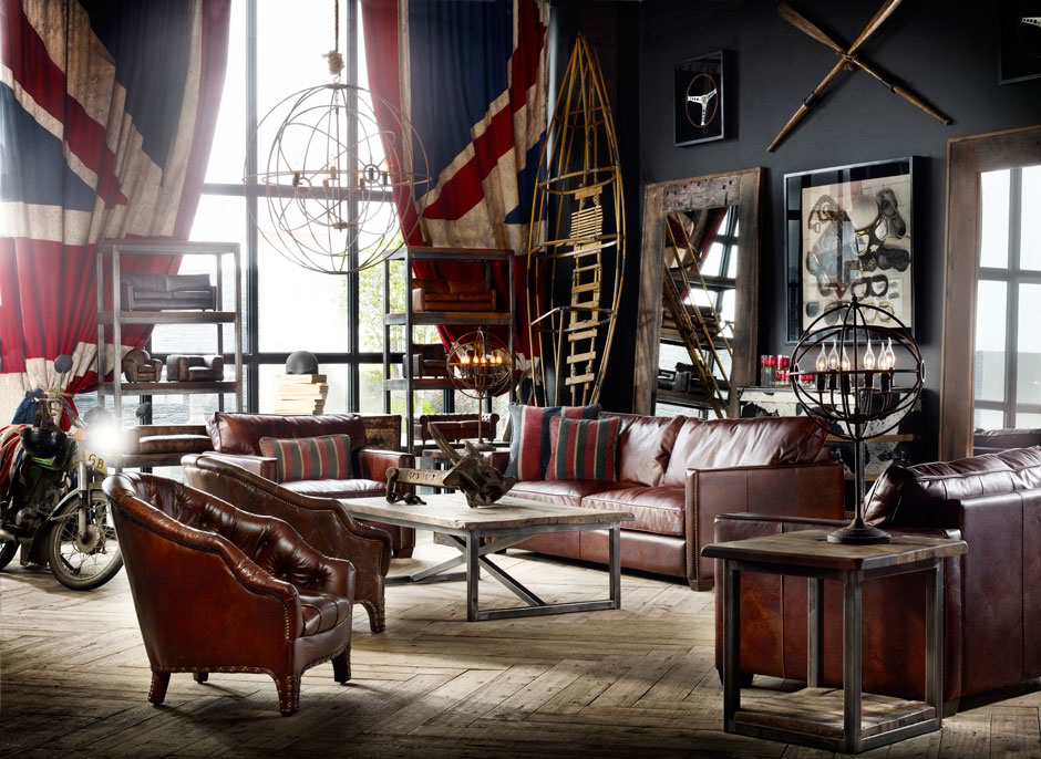 Yet another creative sporting space designed by Timothy Oulton. www.decoholic.org