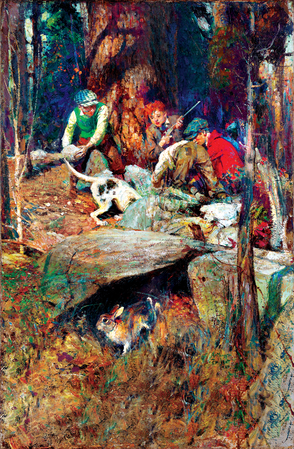 Looking for the Rabbit by Arthur Davenport Fuller