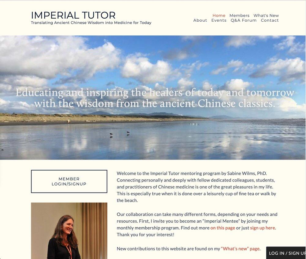 Imperial+Tutor+Website