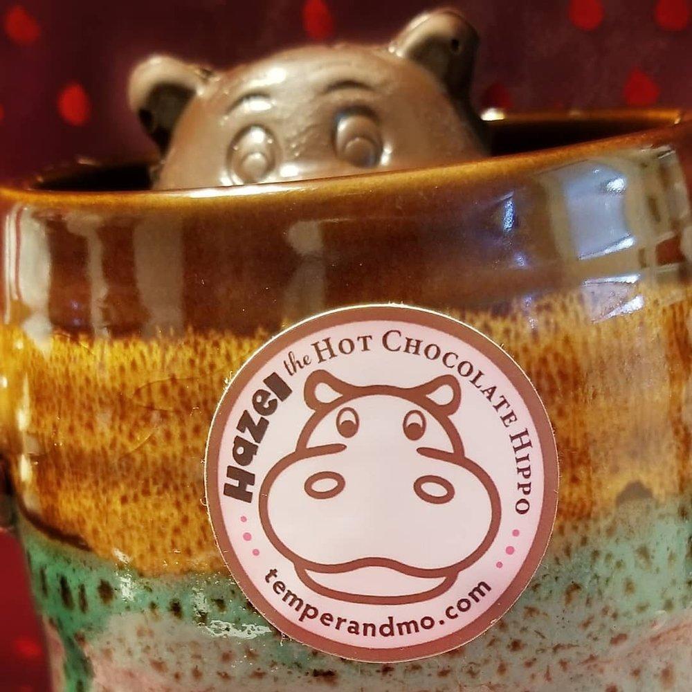 Temper & Mo Candy Company's Hazel the Hot Chocolate Hippo