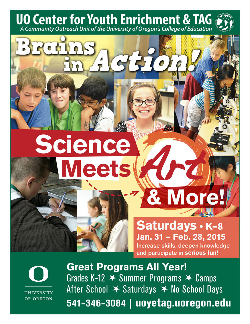 YETAG Brains in Action Flyer
