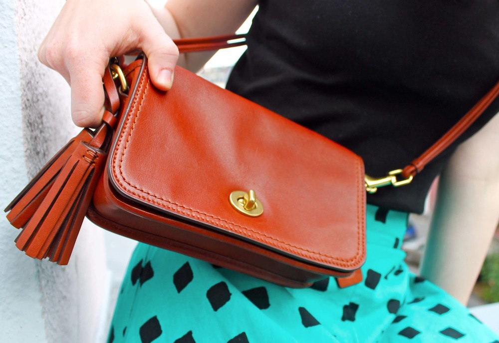 The new favorite Penny shoulder purse from Coach.